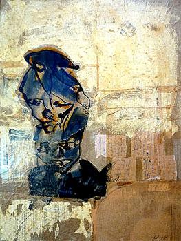 Domixos. 2010. Mixed media on canvas. 81x110 cm. 2.500Euro