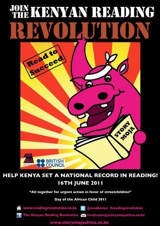 Reading Revolution poster