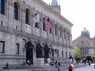 073- Boston Public Library at Copley Square