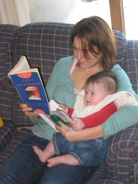 Anna Reads With Rosemary
