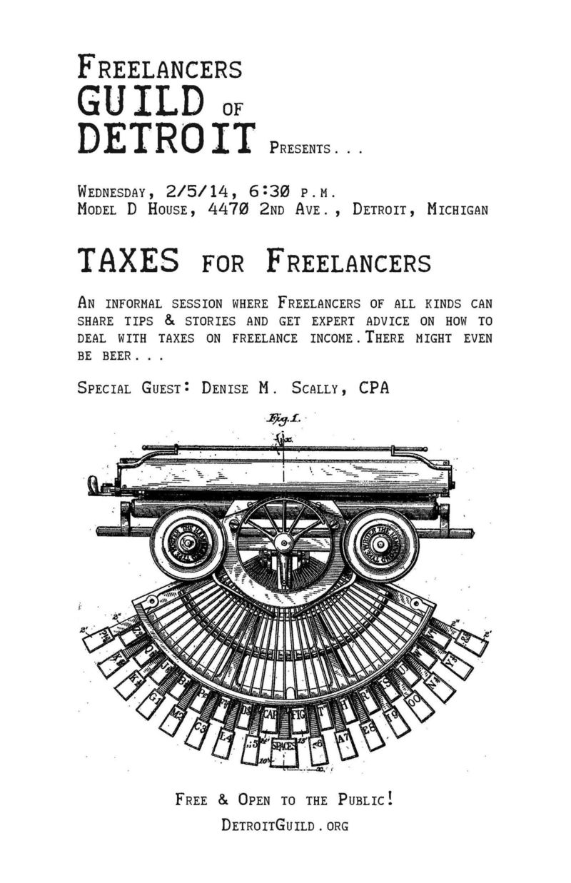 Guild-poster-taxes-for-freelancers